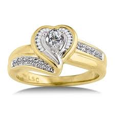 Engagement Gold Rings for Women