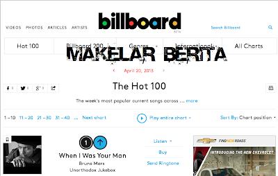 Chart tangga lagu barat