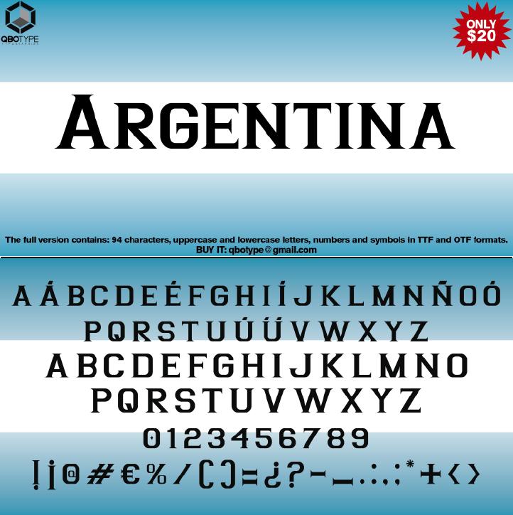 Tipografia Argentina