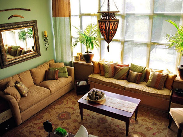 Asian Style Window Treatments http://furniture4world.blogspot.com/2011/04/asian-living-rooms.html