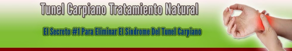 Tunel Carpiano Tratamiento Natural y Efectivo