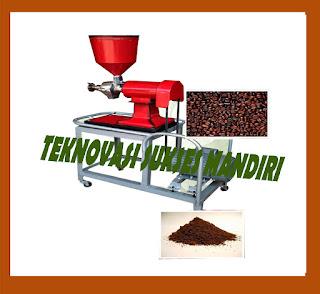Mesin penepung kopi