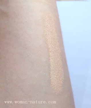 Loreal Perfect Match swatch