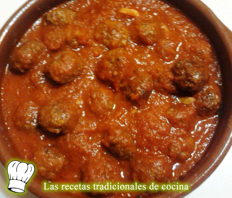 Recetas De Cocina Albondigas   Receta De Albondigas De Carne Con Salsa De Tomate Recetas De