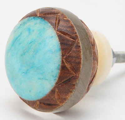 Knobs everything turquoise page 2 for Turquoise door knobs