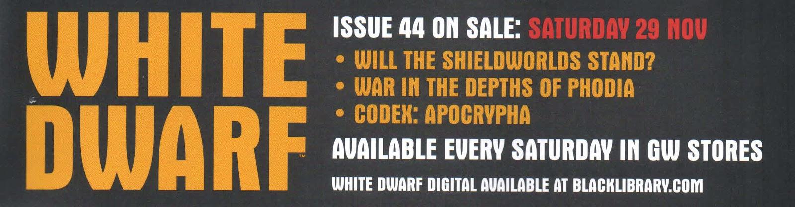 Adelanto de la White Dwarf Weekly 44