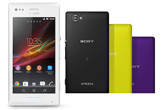 Sony Xperia M Single SIM Android Murah