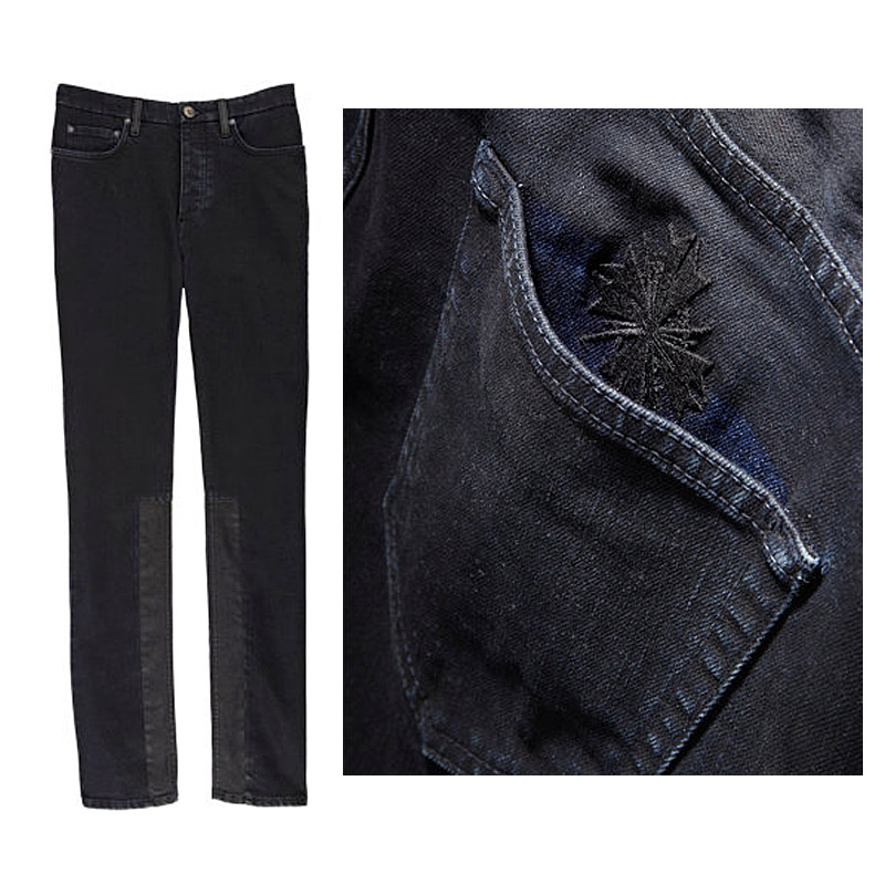 A look at jay zs exclusive holiday collection for barneys 100 limited edition shawn jay z carter acne studios town jay resin coated jeans black malvernweather Choice Image