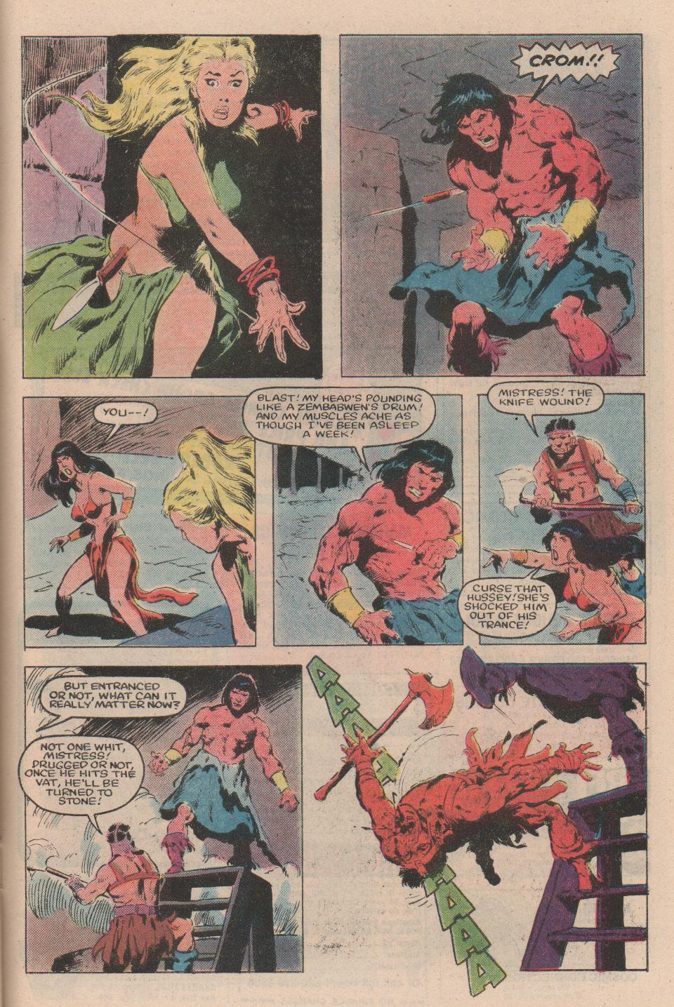 Conan the Barbarian (1970) Issue #159 #171 - English 20