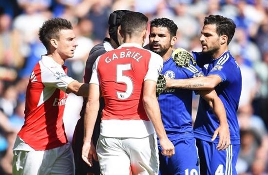 Chelsea 2 x 0 Arsenal - Premier League 2015/16