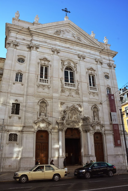 Baixa Chiado Church Lisbon