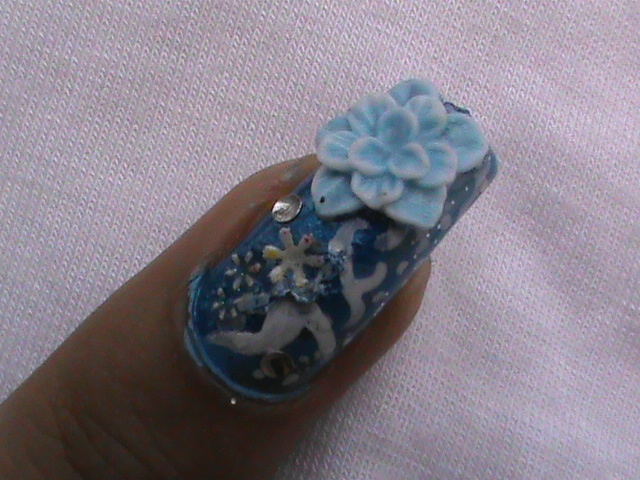 easy 3D nail art video- to do at home nail designs for beginners