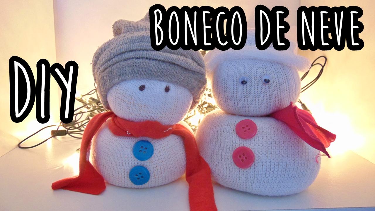 boneco de neve de meia  diy- faça você mesma, blog Ally Arruda