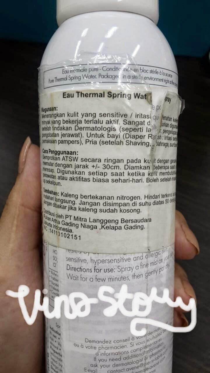 Sexy Facial spring thermal water HOT! Great