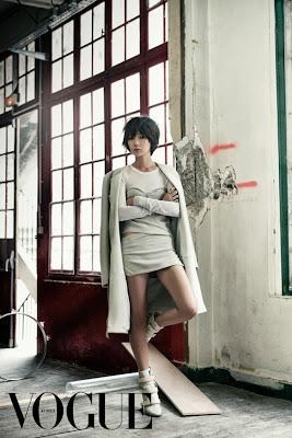 Bae Doo Na - Vogue Magazine November Issue 2013