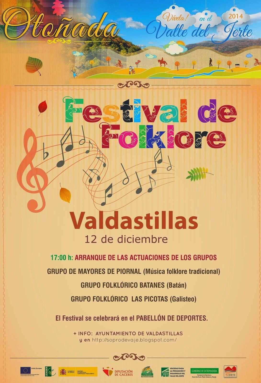 FESTIVAL DE FOLKLORE (Valdastillas)