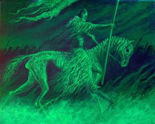 Undead horseman lotr