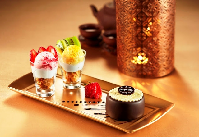 Haagen Dazs, Ice Cream Mooncake, autumn celebration