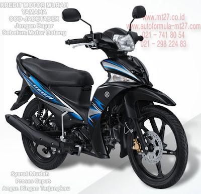 Yamaha Vega Force Biru