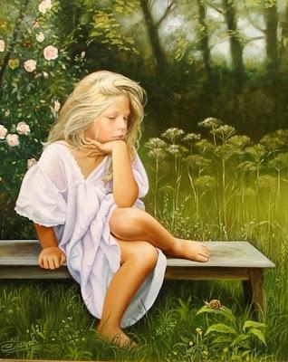 pinturas-de-niñas-oleo