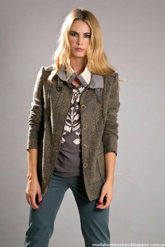 chaquetas Otoño invierno 2013 coleccion Olga Naum