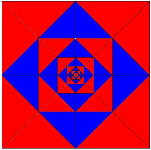 Tecnologica informatica disegni geometrici con paint i for Disegni della barra del garage