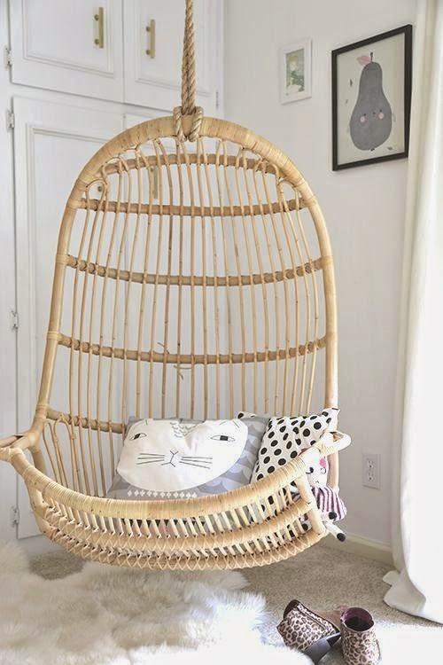 Home garden 35 fauteuils suspendus en rotin - Fauteuil rotin suspendu ...