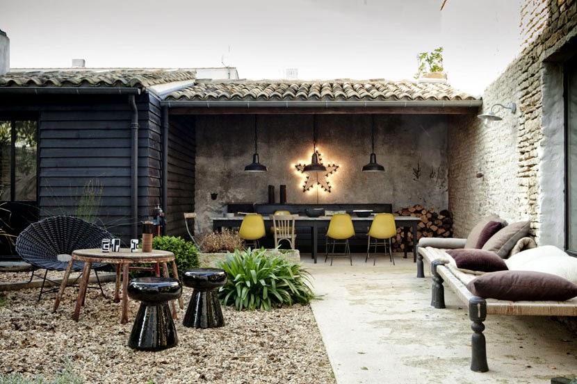 Atelier rue verte le blog une maison de vacances l for Maison moderne ile de re