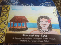 Sina and the Tuna (A4 Picture book)
