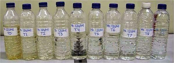 Perbedaan air tercemar dan ait tidak tercemar