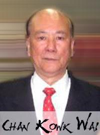 Grão Mestre Chan Kowk Wai