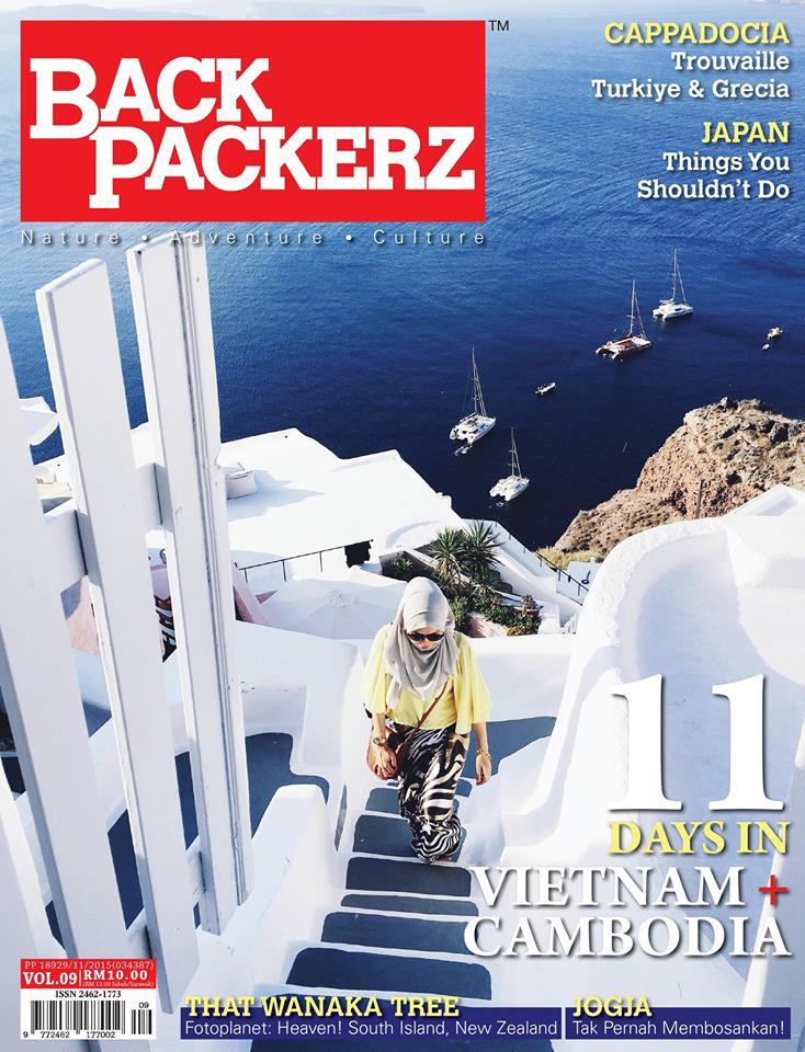 Trip Jogjakarta di Majalah Backpackerz