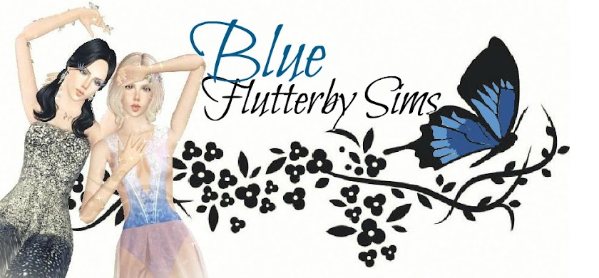 Blue Flutterby Sims