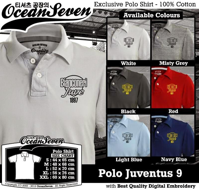 Kaos Polo Juventus 9