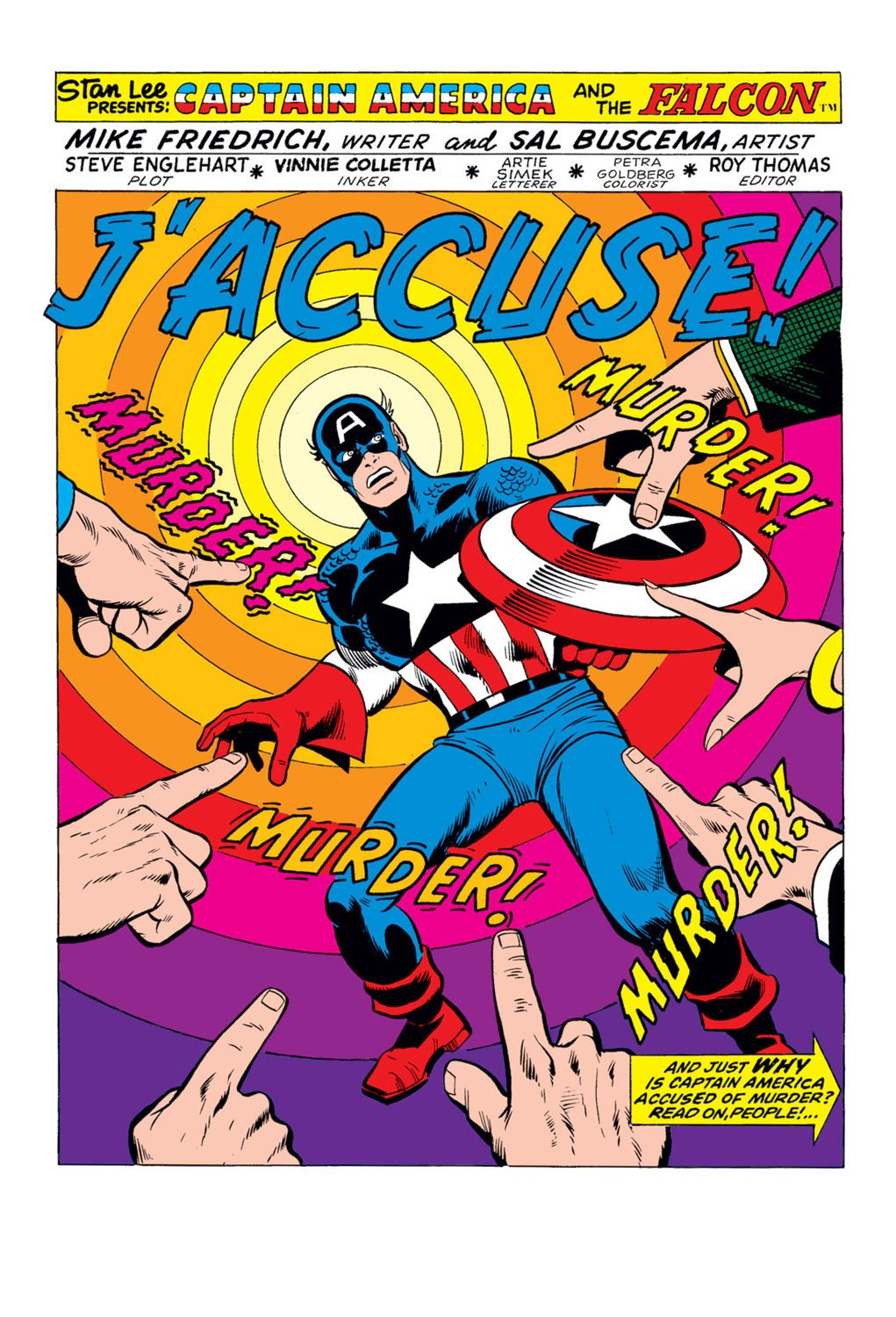 Captain America (1968) Issue #170 #84 - English 2