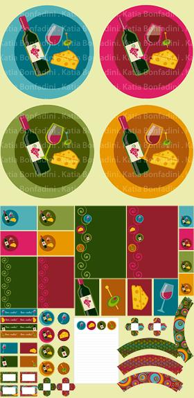 Kit em destaque para os meses frios: QUEIJOS & VINHOS