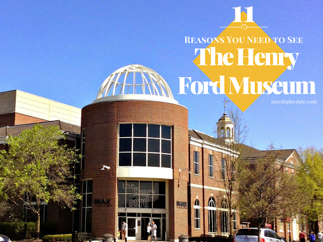 11 Reasons to See The Henry Ford Museum this Summer | #pureMichigan | @mryjhnsn