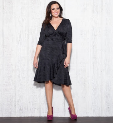 Curvy fashion exchange little black dresses for curvy women