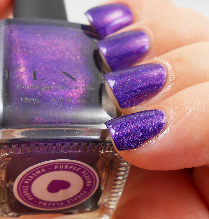 ILNP Purple Plasma, purple holographic nail polish