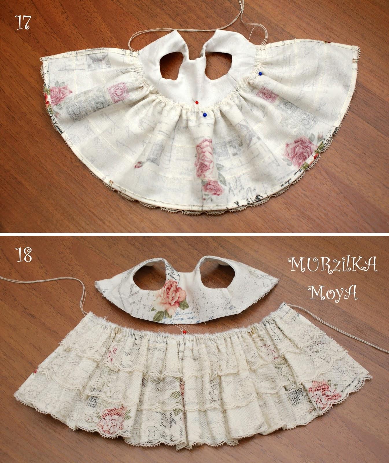 Как сшить платья для куклы фото