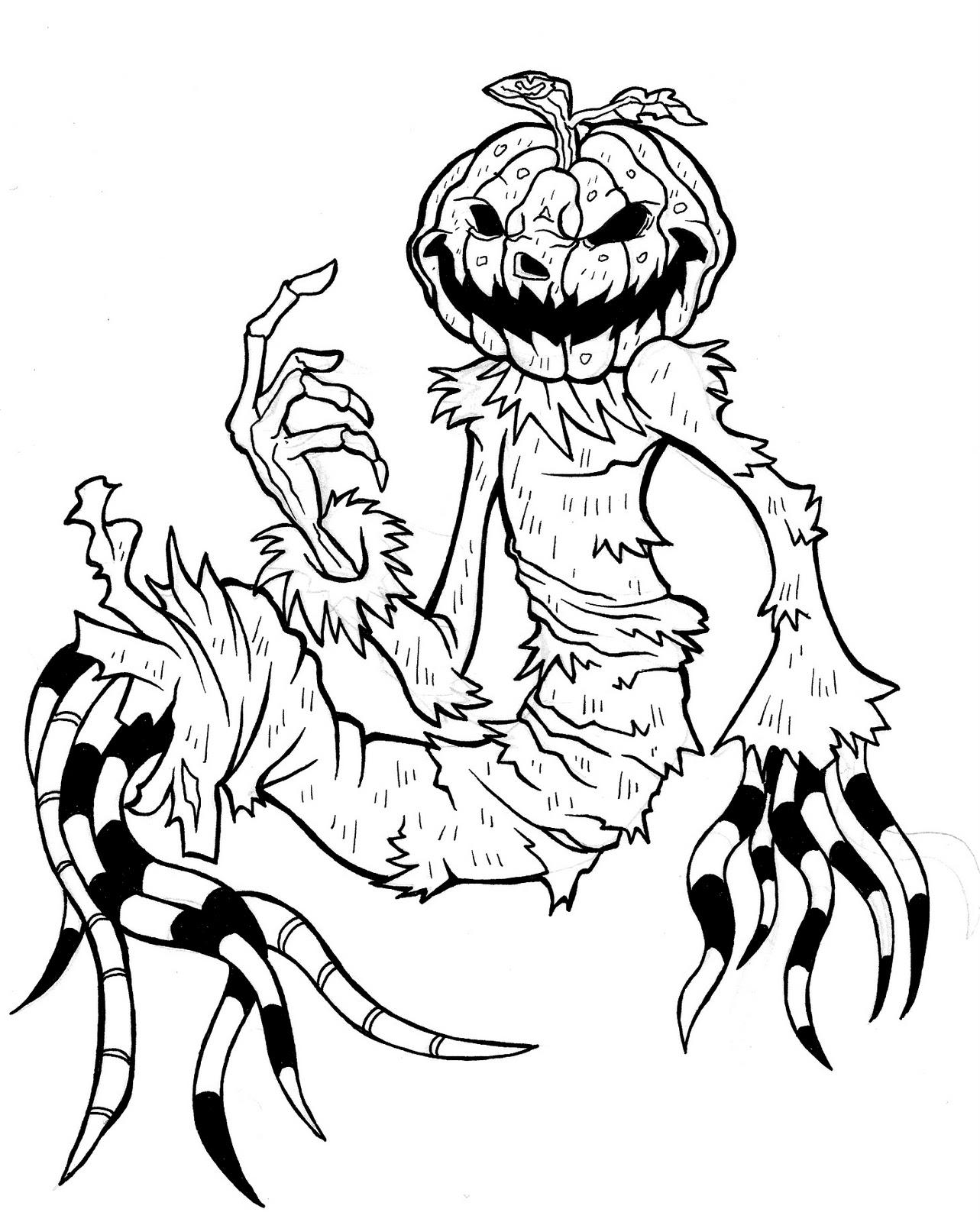 Hell iud ravelo art calabaza halloween for Calabaza halloween dibujo