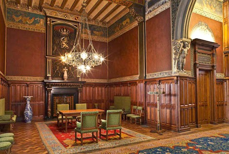 sala de espera de la realeza holandesa