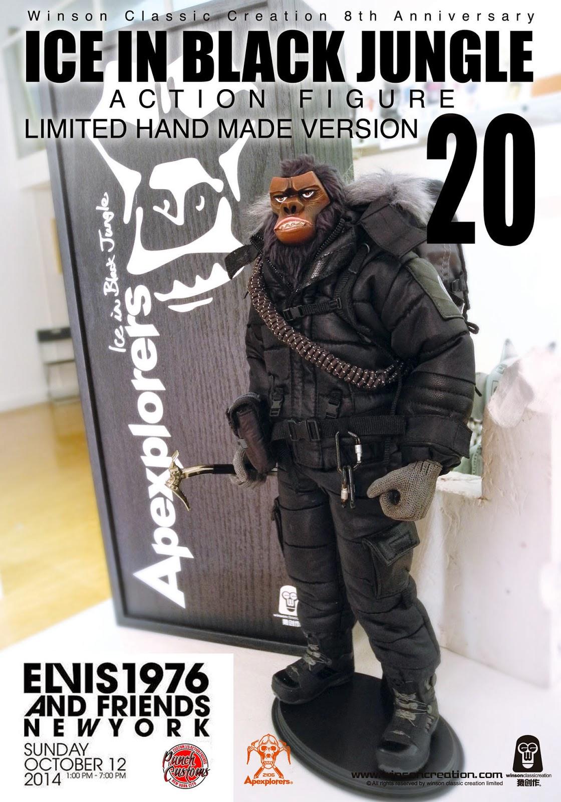 Punch Customs Presents Elvis1976 Amp Friends Custom Figure