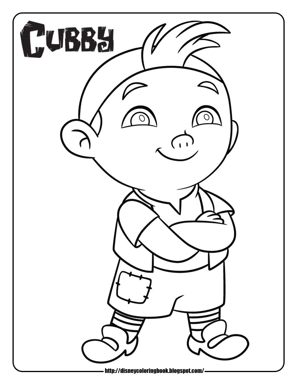 jake and the neverland pirates map coloring pages photo7