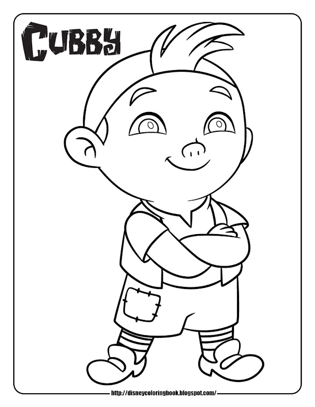 jake and the never land pirates coloring pages coloring sheets cubby title=