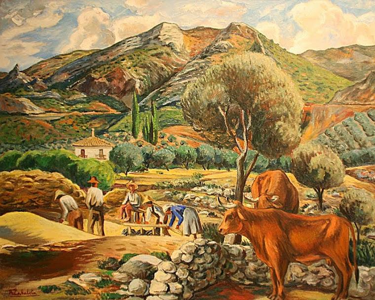 Agricultores de Quesada.