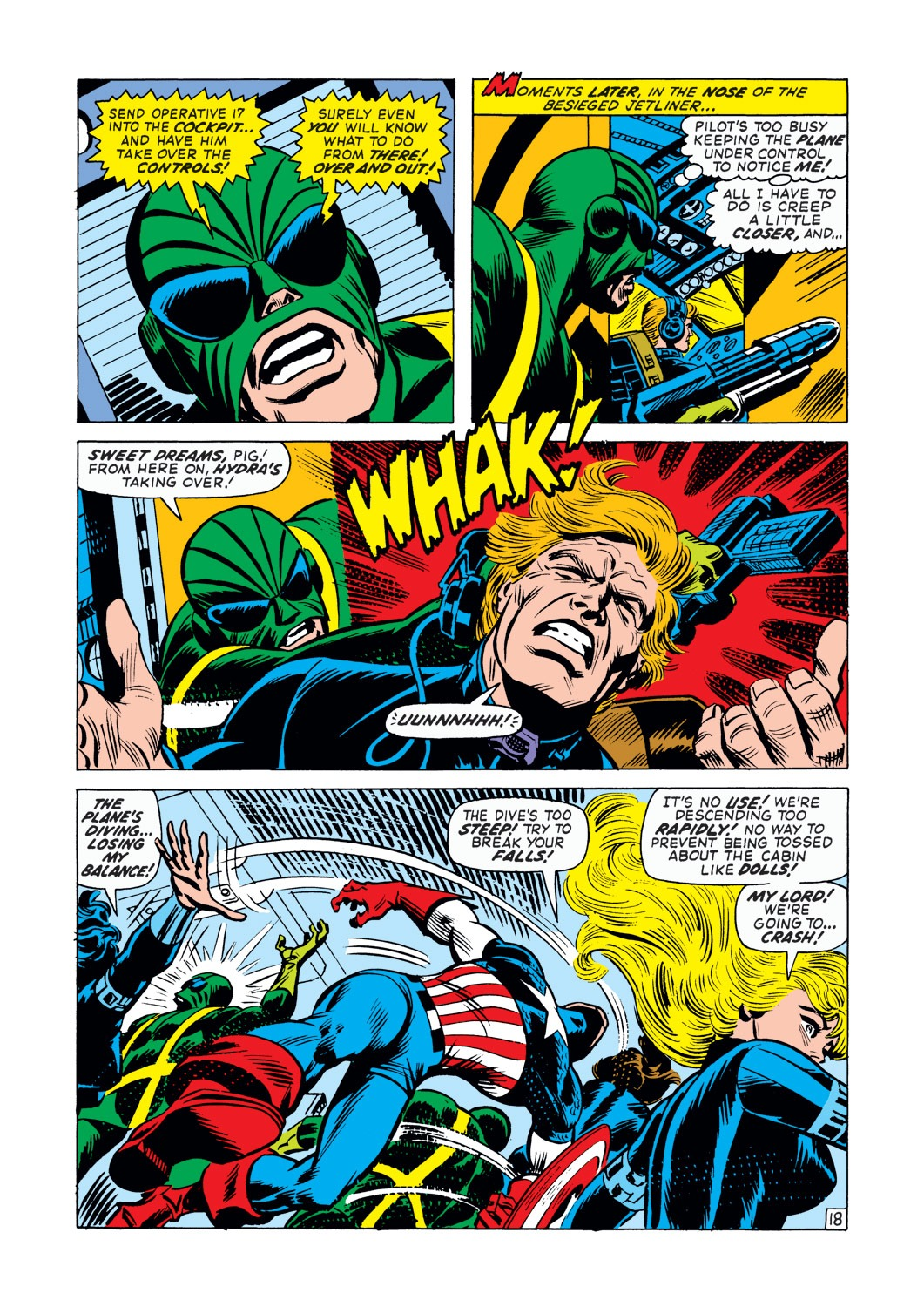 Captain America (1968) Issue #145 #59 - English 19