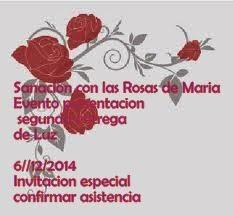 Sanción con las Rosas de Maria