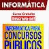 Alfacon vai dar um curso gratuito de Informática para o Concurso do INSS. O curso ocorrerá apenas no dia 20 de maio, às 19h15. Veja aqui como se inscrever