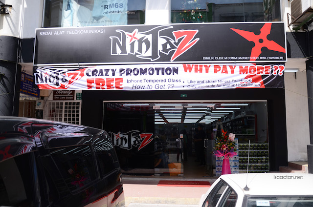 NinJa Z The Lowest Price Mobile Accessories Shop @ Bandar Puteri Puchong
